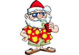 Santa in July