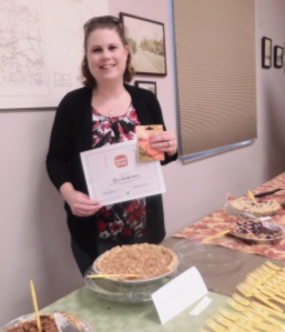 Kim Chamberlain Pie Bake Off Winner