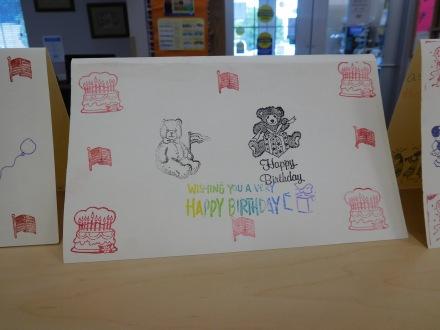 Card making Summer Reading challenge 2