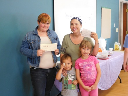Dessert Social winners of gift certificates from local businesses