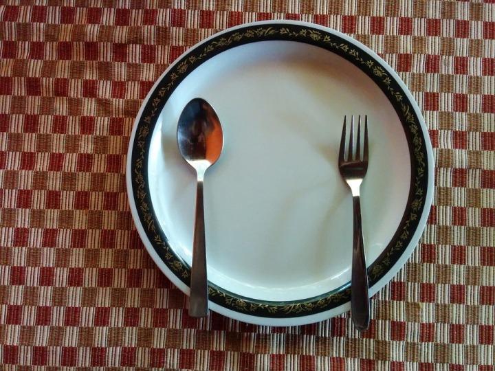 Food Dining Diet Eat Salad Plate Restaurant