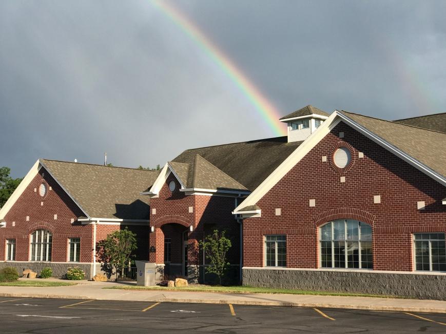 rainbow at MPL
