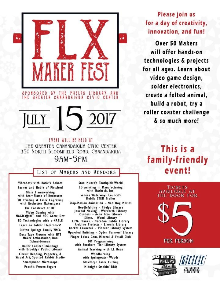 2017 FLX Maker Fest Poster