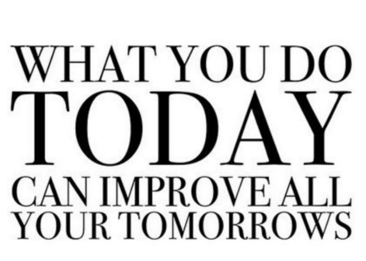 improve your tomorrows
