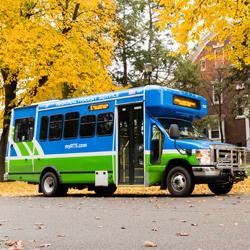 RTS Bus in Wayne County