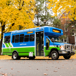 RTS Bus in Wayne County