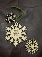 glowforge snowflakes